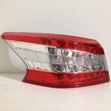 2013 2014 2015 Nissan Sentra LH Left Driver Side LED Tail Light OEM 13-15 Shiny