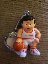 Vintage 1987 Dayton Flyers Lil' Sports Brat Keychain Ncaa Basketball Ohio