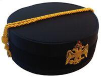 Masonic 32nd Degree (PHA-SJ) Scottish Rite Cap New