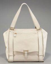JIMMY CHOO Parker Off White Calfskin Large Tote Bag Handbag Purse NWT