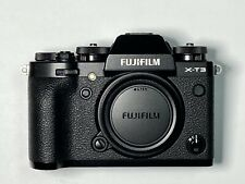 Fujifilm X-T3 Camera- Black (Body Only)   Low Shutter, Flash included