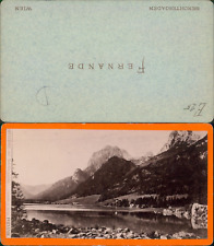Fernande, Allemagne, Intersee, bei berchtesgaden Vintage CDV albumen carte de vi