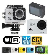 4K Ultra HD DV 12MP 1080p 60fps Sports Action Camera + Top Value Accessory Kit