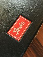 Fender Molded Deluxe Red Label Guitar Case Strat Stratocaster Tele