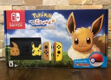 Nintendo Switch Pikachu & Eevee Edition Pokemon: Let's Go Evee Bundle