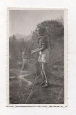 PHOTO Ratée Erreur photographique Accident Chien Vers 1950 Rayon Lumière