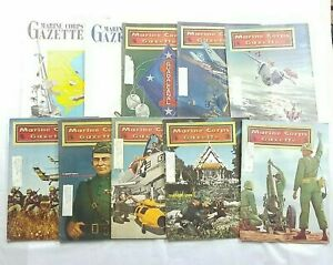 Marine Corps Gazette Lot Of 18 Magazine Issues Vintage 1900's