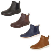 Fitflop Womens Chai Leather Chelsea Boot Shoes