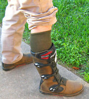Military Army Over The Calf Green Boot Socks 6 Pairs Made In USA 10-13 Or 12-15
