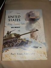 1961 ARMY TRAINING Center FORT KNOX  Yearbook Armor USATC Comp E 9th Bat. 3d Reg