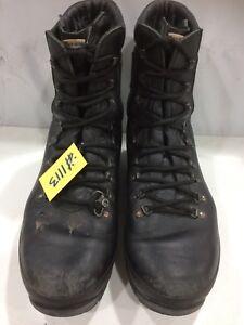 Alt-berg Black Leather liability British Combat Boot Size 12M Used  #1113