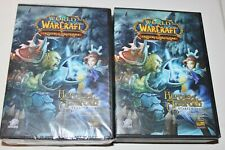 WORLD OF WARCRAFT TRADING CARD GAME HEROES OF AZEROTH X 2 SEALED & OPENED