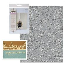Spellbinders embossing folders Flowers and Leaves folder SES-008 Swirls vines