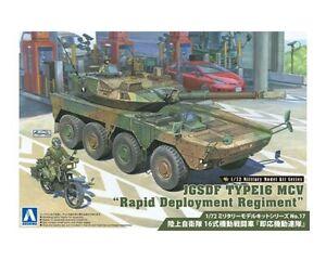 Aoshima 1/72 JGSDF TYPE16 MCV Rapid Deployment Regiment NEW model kit