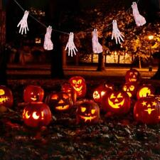 Halloween Fake Body Parts Party Decorations Props Scary Garland Bloody Banner