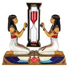 Hourglass Red Sand Timer Watch Clock Sandglass Ancient Egypt Egyptian Home Decor