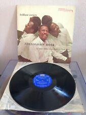 THELONIOUS MONK, Brilliant Corners MONO LP Vinyl , Riverside 12-226, 1959. US