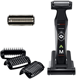 Body Ball  Groomer & Body Trimmer 3 Combs Rechargeable Waterproof Shave
