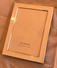 """Isaac Jacobs Silver Plated Photo Frane 6"""" X 4"""""""