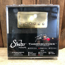 Suhr Thornbucker Guitar Pickup, Bridge Position, 50mm Spacing, Gold Cover