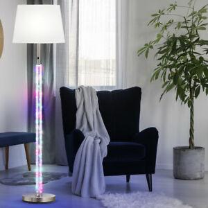 Design Steh Lampe Deko RGB LED Kinder Zimmer Beleuchtung Textil Decken Fluter