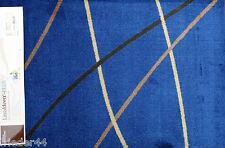 SCHMUTZFANGMATTE waschbar FUßMATTE Dekowe Prestige Linien Blau 64x97 Türmatte