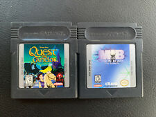 Quest for Camelot (Nintendo Game Boy Color, 1998) & MIB men in black lot