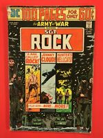 Our Army at War featuring SGT. ROCK #269 100 pgs. Johnny Cloud/Helicats DC 1974