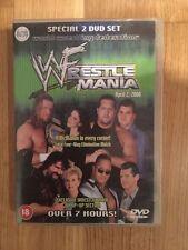 WWF - Wrestlemania 2000 16 (DVD, 2000, 2-Disc Set) WWE Rare