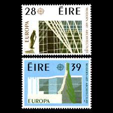 Ireland 1987 - EUROPA Stamps - Modern Architechture - Sc 689/90 MNH