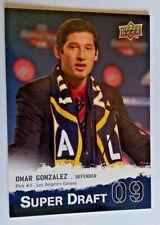 2009 Upper Deck MLS Superdraft Rookie Omar Gonzalez #SD-3