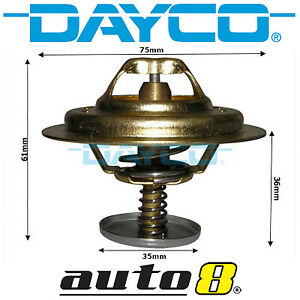 Dayco Thermostat for Mitsubishi Fuso Fuso FG Canter 3.9L Diesel 4D34 2004-2008