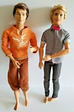 Fashionista Ken Articulated Doll Rooted Blonde Brown Hair Blue Bow Tie Barbie