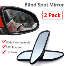 New Universal Car Auto 360° Wide Angle Convex Rear Side View Blind Spot Mirror