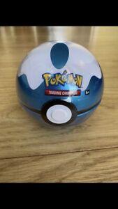 Pokemon Cards Dive Pokeball Sealed Booster Packs & Coin 2020 Tin Poke Ball TCG