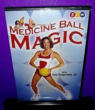 Medicine Ball Magic With Sara Kooperman Fitness Dvd No Ball Included New B509