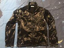 Stone Island Black Jacket 2008 Vintage Shimmer Liquid Silk New Fantastic Size L