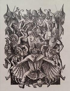 Maurice BERDON (1889-1969) 20er Jahre Lithographie - Les Contes de Perrault