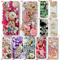 Bling Soft phone Case &wrist Crystal flower strap For iPhone X XS Max 6 7 8 plus
