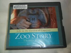 AUDIO BOOK CD Zoo Story Life in the Garden of Captives Thomas French EX-LIBRARY