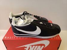 Nike Cortez Nylon Sz 11 & 11.5 OBSIDIAN WHITE YANKEES 807472-410 13 FORREST GUMP