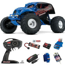 Traxxas 1/10 Skully 2WD Monster Truck RTR Blue w/ Radio / iD Battery / Charger