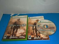 Call of Duty: Modern Warfare 2 (Microsoft Xbox 360, 2009) Complete With Manual
