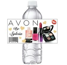 AVON REPRESENTATIVE PERSONALIZED SALES GIFTS Party Favors water bottle labels
