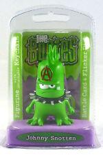 The Bogies Johnny Snotten Figurine Detachable Keychain Battlecard & Flicker Disc