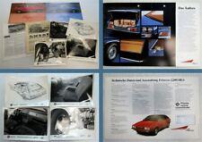 8x British Leyland Princess 1800 HL 2200 HL Prospekte Pressefotos 1970er Jahre