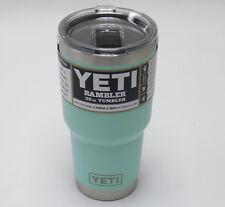 Brand New Seafoam 30oz Yeti Rambler Tumbler With Magslider Lid YRAM30SF