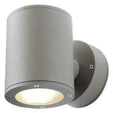 Intalite exterior IP44 SITRA WALL UP-DOWN wall light stone grey 2xGX53 2x9W IP44