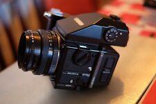 MINT Zenza Bronica ETRSi Medium Format Camera, 75mm 2.8 lens, prism vf, m.winder