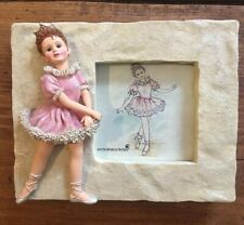Boyds Yesterdays' Child Melissa The Ballet #27553 Ballerina picture frame i3